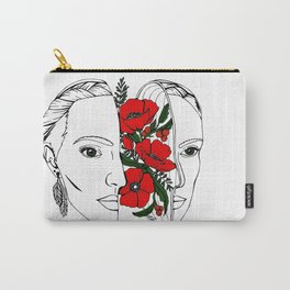 The Poppy Flowers Carry-All Pouch