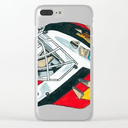 McLean - Mask Clear iPhone Case