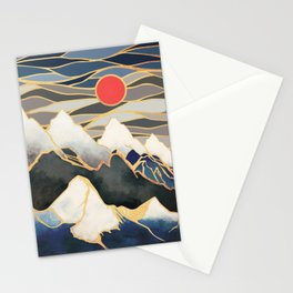 Ice Mountains Stationery Cards