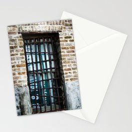 Barred & Boarded Stationery Cards