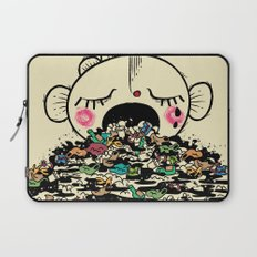 Save the fishes Laptop Sleeve