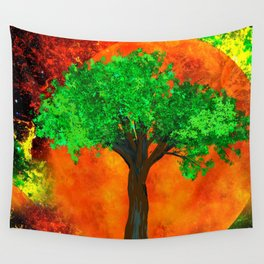 THE FOREVER TREE Wall Tapestry