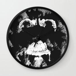 GNARLY FACE Wall Clock