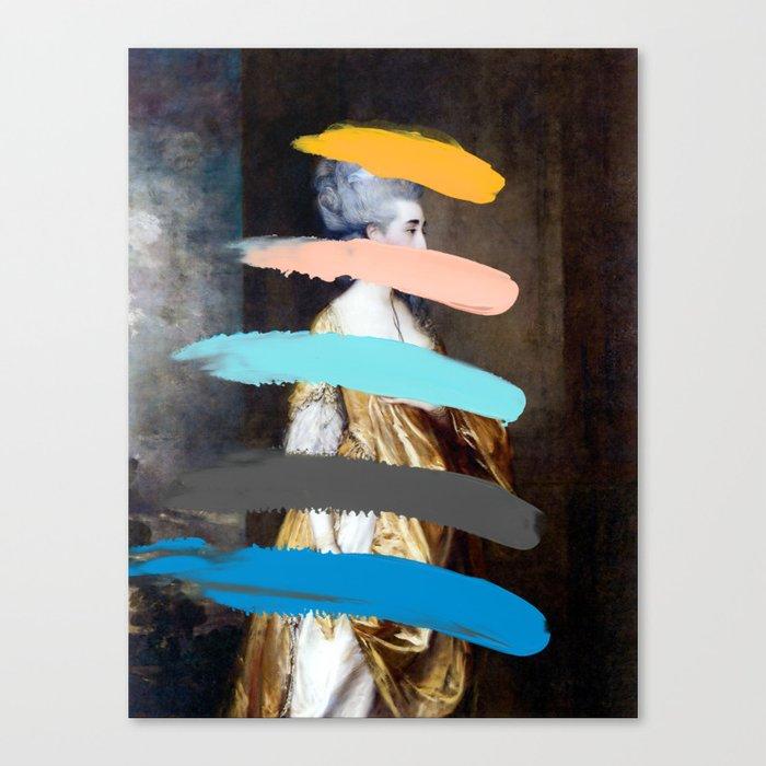Composition 736 Canvas Print