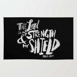 Psalm 28: 7 II Rug