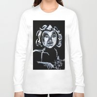 selena gomez Long Sleeve T-shirts featuring Selena Kyle by JezRebelle