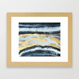 VITAMIN | Abstract acrylic art by Natalie Burnett Art Framed Art Print
