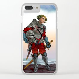 Knight of the Blackrocks Clear iPhone Case