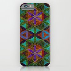 The Flower of Life (Sacred Geometry) 2 Slim Case iPhone 6s