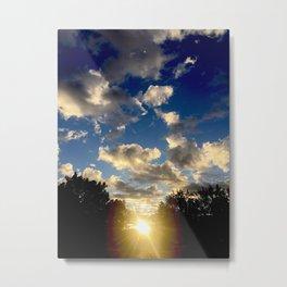 An Albuquerque Sunrise Metal Print