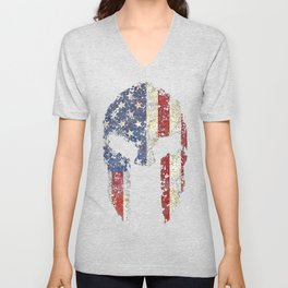 American Spartan Shirt Unisex V-Neck
