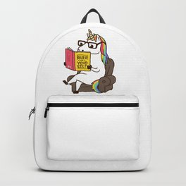 Unicorn Believe in Yourself Magical Fabulous Backpack