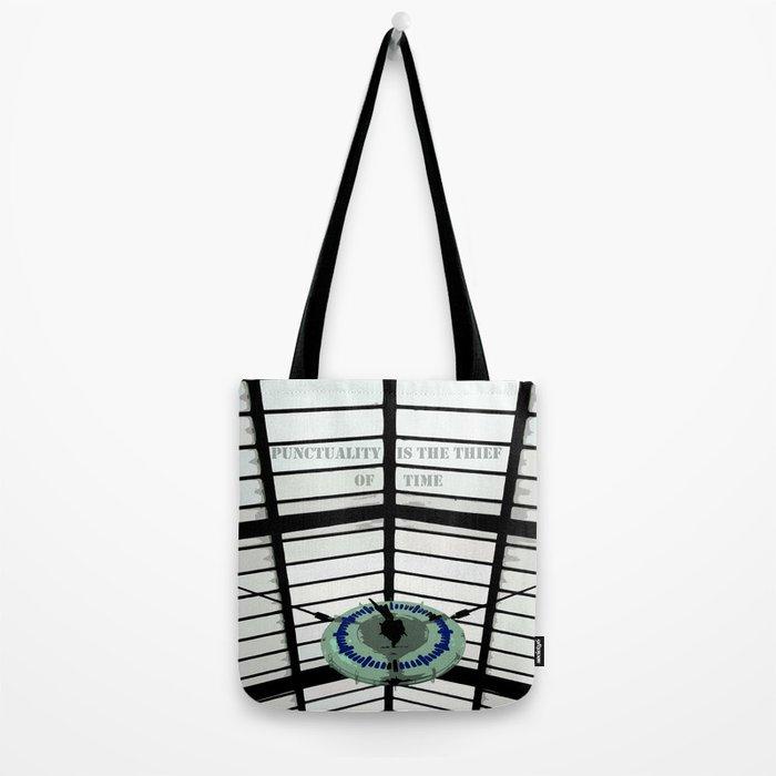 Oscar Wilde #4 Thief of Time Tote Bag