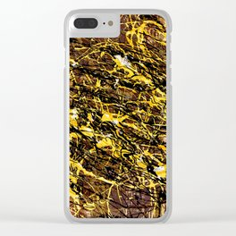 Jack's Labyrinth Clear iPhone Case