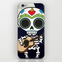 Muertos Musician iPhone Skin