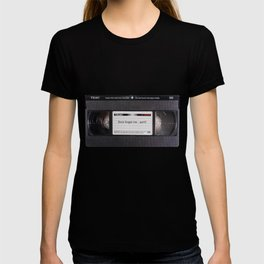 old video tape T-shirt