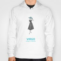 virgo Hoodies featuring Virgo by Cansu Girgin