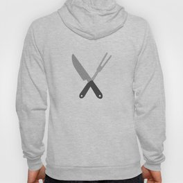 knife and fork Hoody