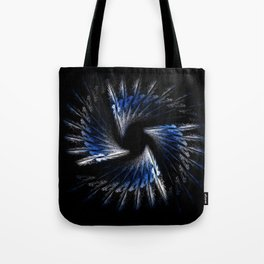 Blue feathers Tote Bag