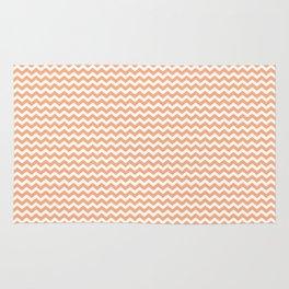 Chevron Orange Rug