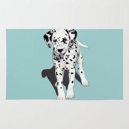 Dalmatian Puppy Rug