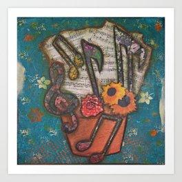 Music Grows on You Art Print