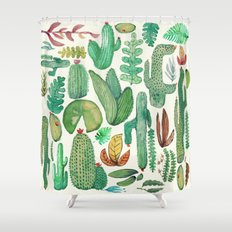 nature pattern collab. Shower Curtain