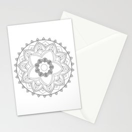 mandala n1 Stationery Cards