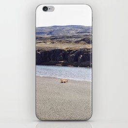 In the middle of nowhere, Iceland iPhone Skin
