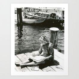 Artist, Providence, Rhode Island Art Print