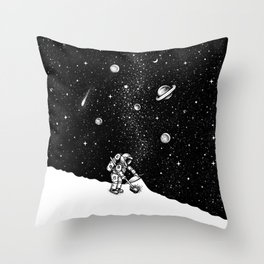 Cosmic Dust Throw Pillow