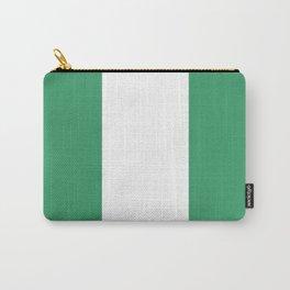 Flag of nigeria 2 -nigeria, nigerian,africa,hausa,igbo,Yoruba,Naira,Lagos,Kano Carry-All Pouch