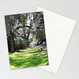Oak Tree Shadows Stationery Cards