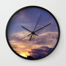 Magical Afternoon Wall Clock