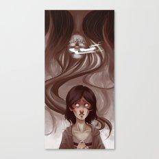 Uneternal Sleep Canvas Print
