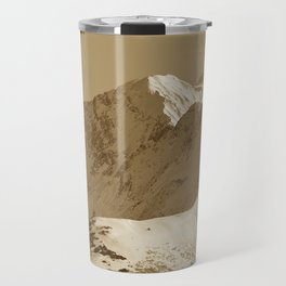 Majestic Mountain - Sepia Travel Mug
