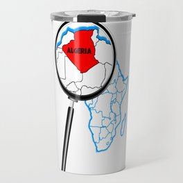 Algeria Magnifying Glass Travel Mug