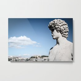 Look Over The City Metal Print