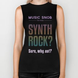 Synth Rock — Music Snob Tip #069 Biker Tank