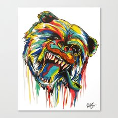 Sophisticated Bear Canvas Print