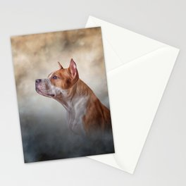American Staffordshire Terrier Stationery Cards