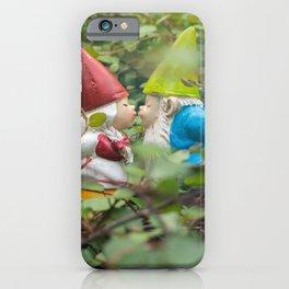 First Kiss - Garden Gnome iPhone Case