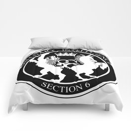 MI6 Logo (Millitary Intelligence Section 6) Comforters