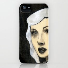 Hedy Lamar iPhone Case