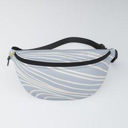 striped ocean art Fanny Pack