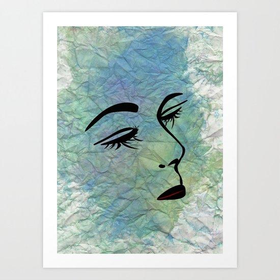 Vamp 2 Art Print