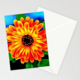 Orange Marigold Stationery Cards