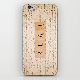 Bookaholic iPhone Skin