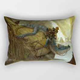 Scouting Party Rectangular Pillow