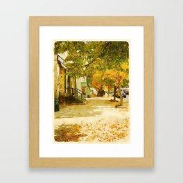 Norway, ME Framed Art Print